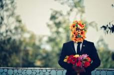 Hombre flor