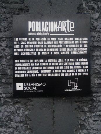 Museo a Cielo Abierto, Santiago // Foto por Pierre Lepe