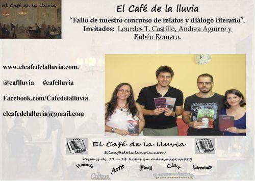 De izq a der: Lourdes T. castillo, Javier Fernández, Rubén Romero y Andrea Aguirre.