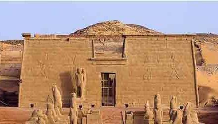 Templos nubios en el Antiguo Egipto