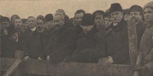 Integrantes del Gobierno Provisional en vísperas a la Revolución rusa