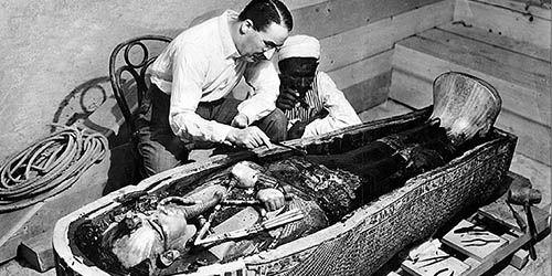 El descubrimiento de la tumba de Tutankamón
