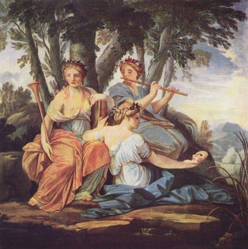 Las musas y su referencia a los clásicos