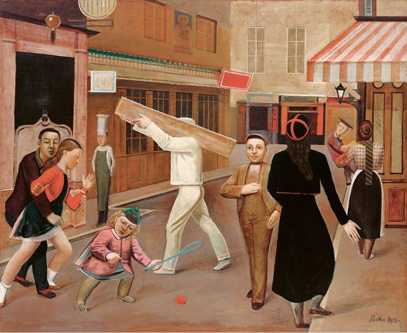 La calle (1933) | Procedencia: Museo de Arte Moderno de Nueva York SCALA
