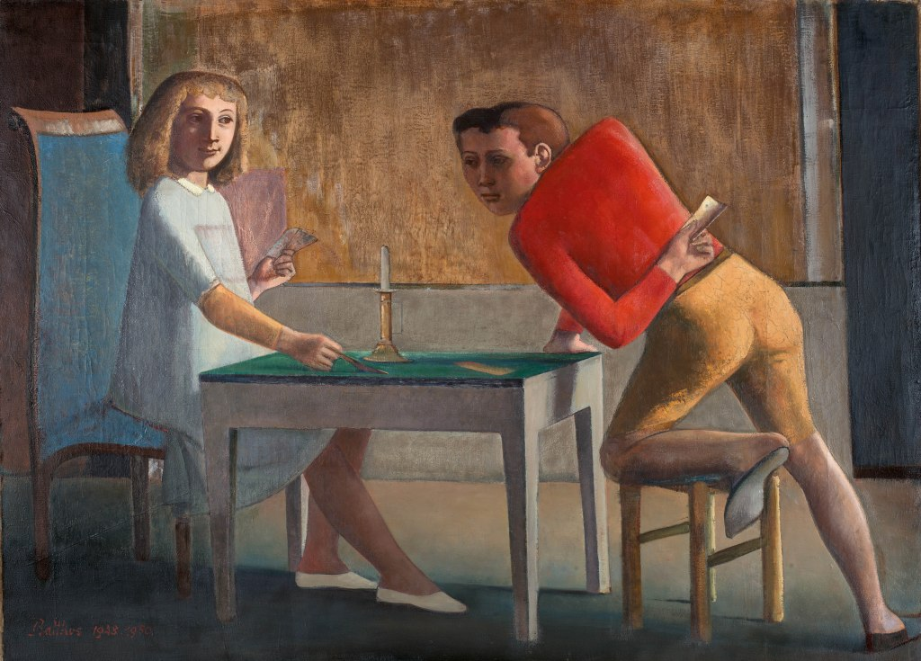 La partida de naipes (1948-1950)| Museo Nacional Thyssen-Bornemisza