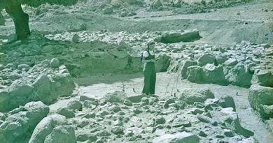 Encarnación Cabré en Necrópolis de La Osera. La primera arqueóloga española