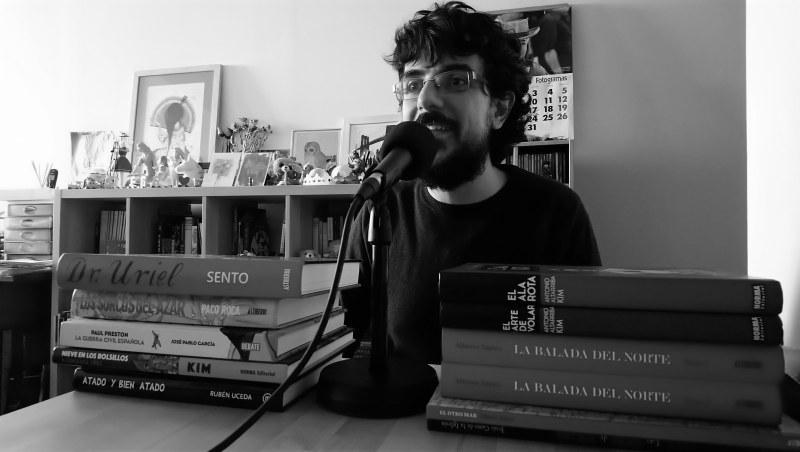 Manuel Fernández hablando sobre la Historia de España en la novela gráfica
