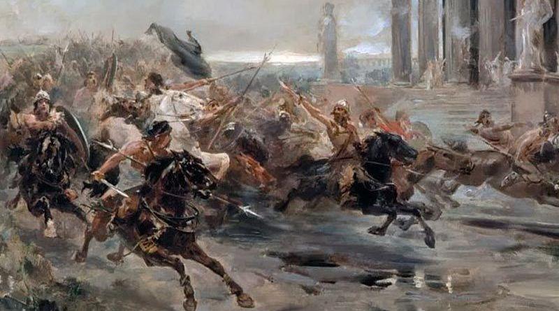 Imperios y Bárbaros es la última obra escrita por José Soto Chica