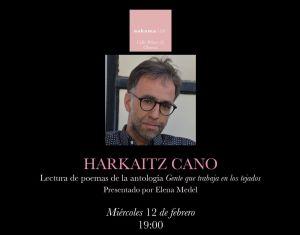 Harkaitz Cano en Nakama