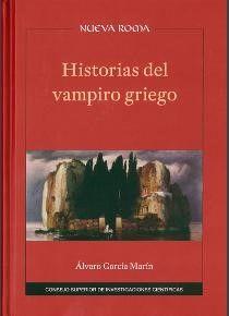 Portada de «Historias del vampiro Griego»,