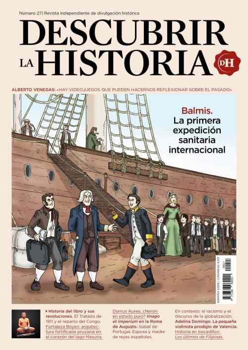 Último número de la revista Descubrir la Historia