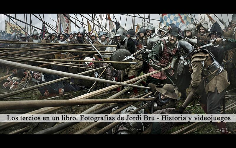 Los tercios en un libro. Fotografías de Jordi Bru