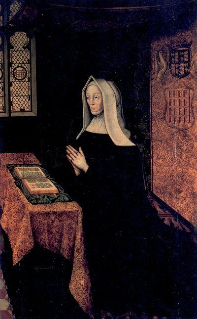 Margaret Beaufort fue madre de Edmund Tudor
