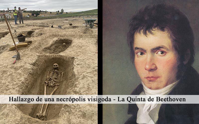 Hallazgo de una necrópolis visigoda – La Quinta de Beethoven