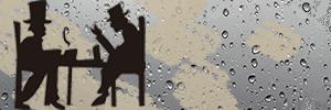 Logotipo de EL Café de la Lluvia. Medio de comunicación ligado al conocimiento