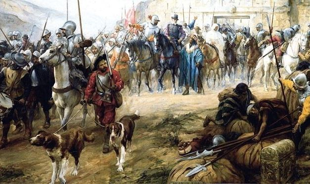 Los perros del conquistador