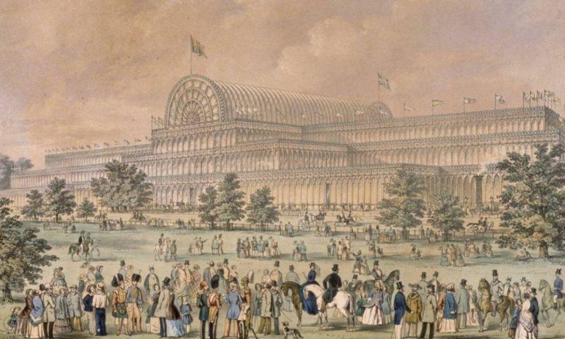 El Crystal Palace - La ingeniería gana a la arquitectura