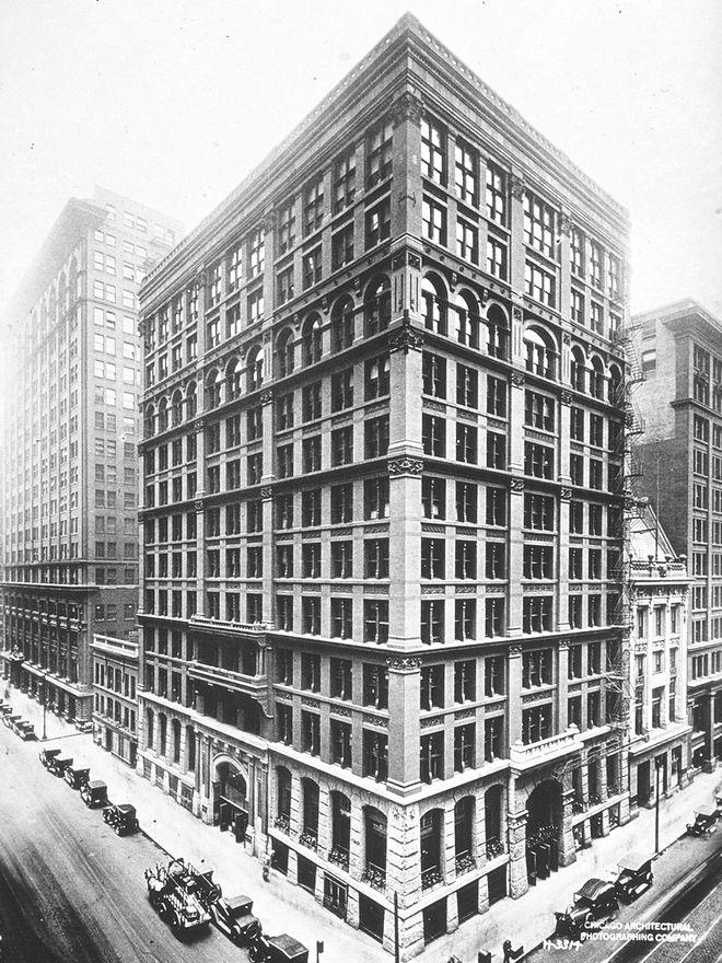 Escuela de chicago- Arquitectura e ingeniería en el siglo XIX