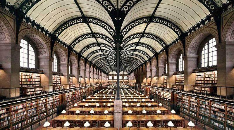 Arquitectura e ingeniería en los siglos XIX y XX con las bibliotecas