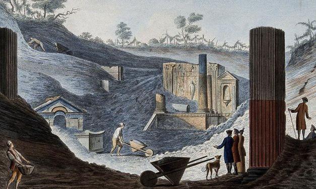 Historia de la arqueología en Pompeya y Herculano