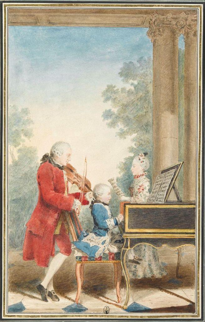 Mozart - Violín- piano- concierto