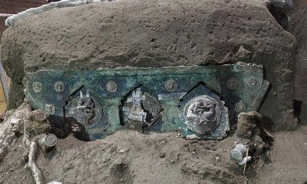 Un carro ceremonial en Pompeya – Elefantes de guerra