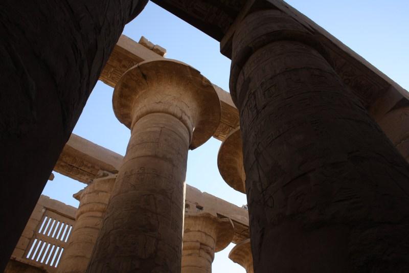 La Gran Sala Hipóstila de Karnak- Ramsés II