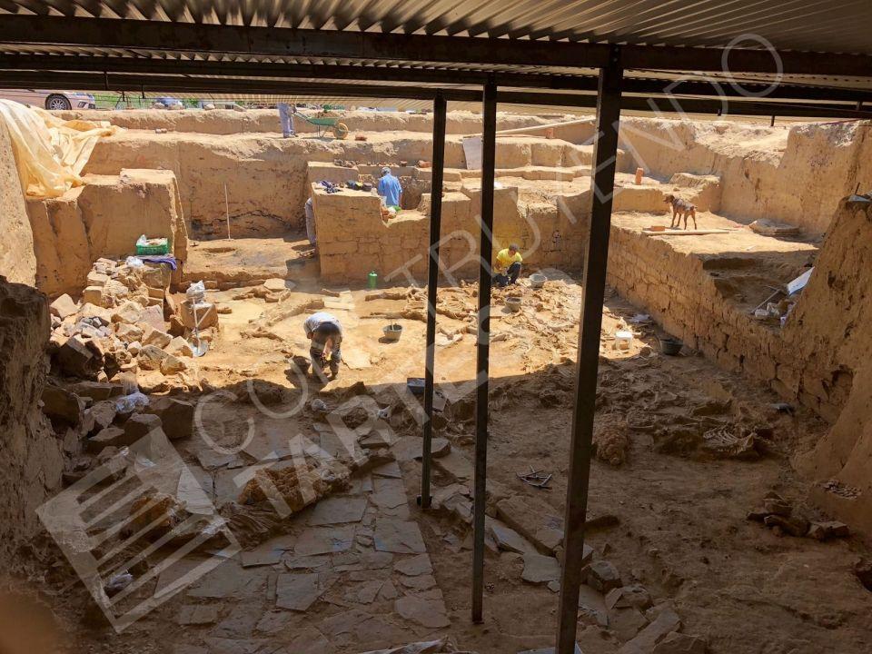 Excavaciones en Casas del Turuñuelo