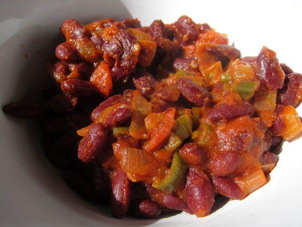 Chili sin Carne (Chili vegetariano)