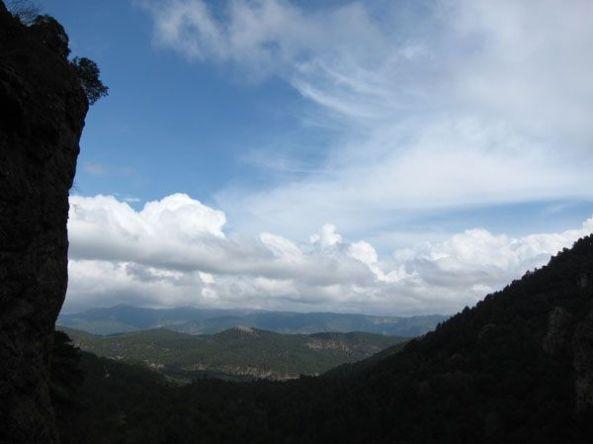 Sierra de Alcaraz desde el nacimiento del Río Mundo