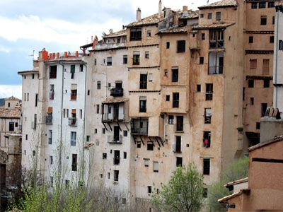 Cuenca - casas casi colgadas