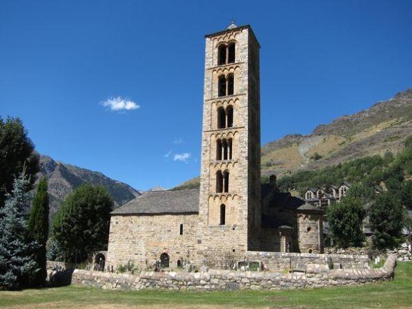 Exterior iglesia Sant Climent de Taüll