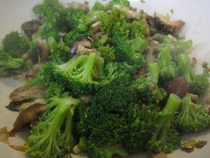 brocoli con shiitake y arroz al estilo árabe02