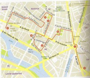Paris. Marais y La Bastilla