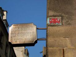 El barrio de Pletzl. Paris.