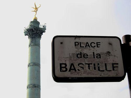 Plaza de la Bastilla.