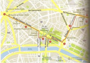 Paris. Los Campos Eliseos y los Grandes Bulevares