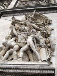 La Marsellesa. Arco del Triunfo.