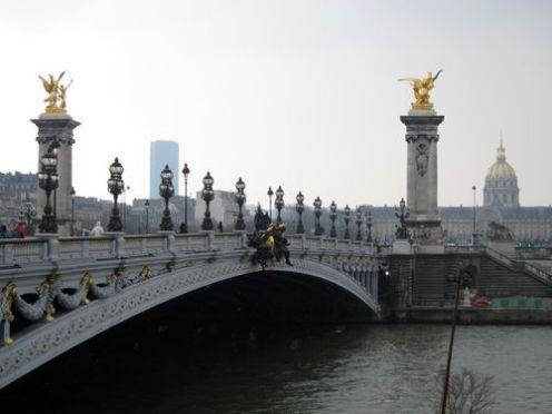 Puente de Alejandro III. Paris.