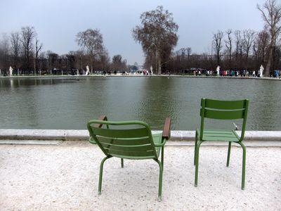 Lago en el Jardin de las Tullerias
