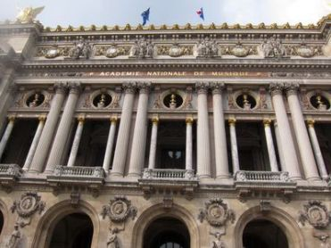 Fachada del Palais Garnier