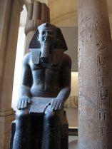 Estatua de Ramses II. Museo del Louvre. Planta Baja