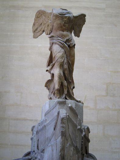 La Victoria de Samotracia. Museo del Louvre. Primera Planta.