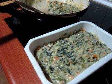 Crujientes de verdura con bechamel 10