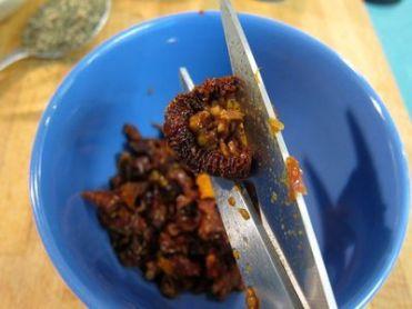 Galletas de tomates secos y albahaca