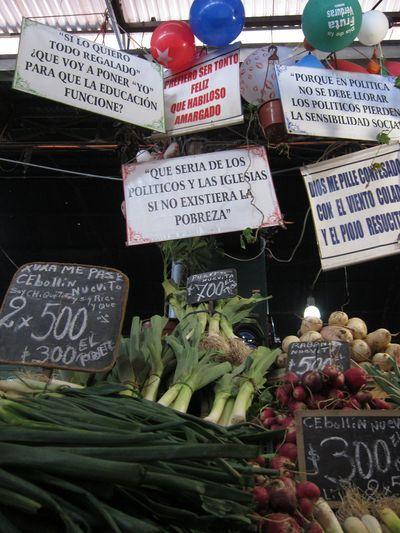 Toma de contacto con la capital, Santiago de Chile
