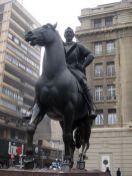 Pedro de Valdivia. Plaza de Armas.