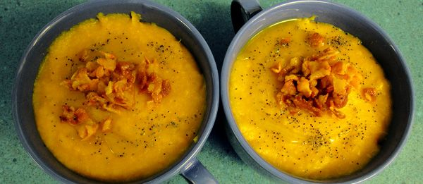 Puré de patata y zanahoria