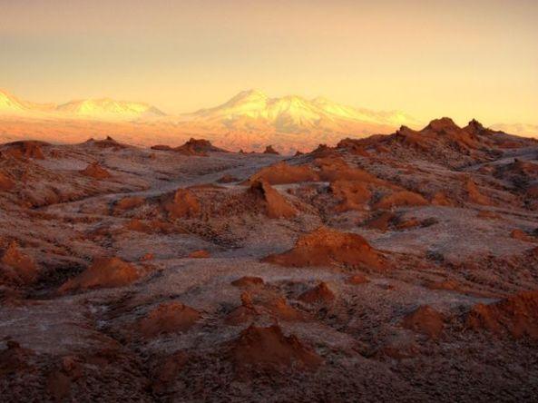 Atardecer Valle de La Luna