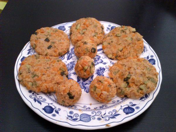 Albondigas de verduras